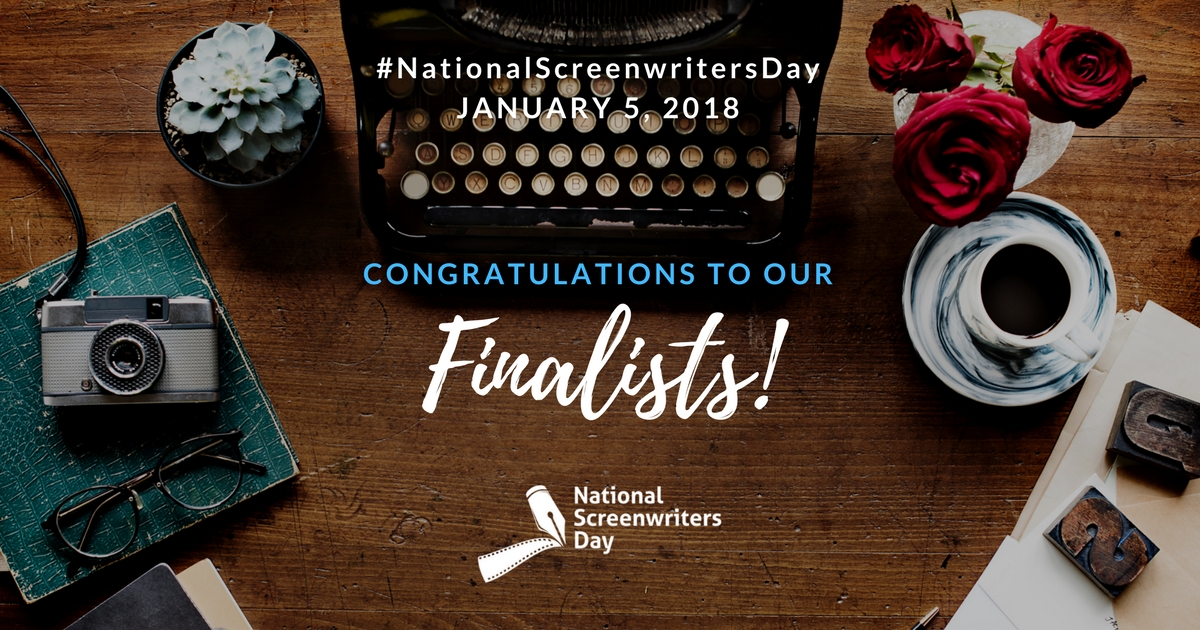 National Screenwriters Day Finalists Announced