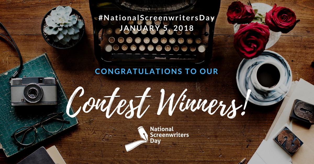 National Screenwriters Day Winners Announced