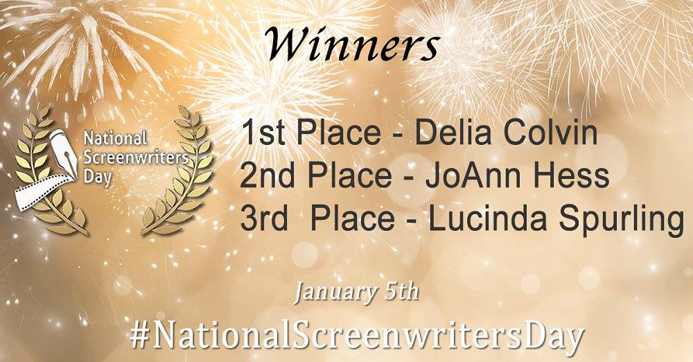 1st Place - Delia Colvin; 2nd Place - JoAnn Hess; 3rd Place - Lucinda Spurling